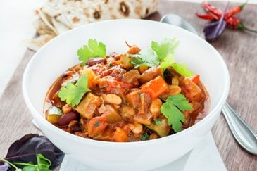 recept, weekmenu, witte bonen, chili, jalapenopepers