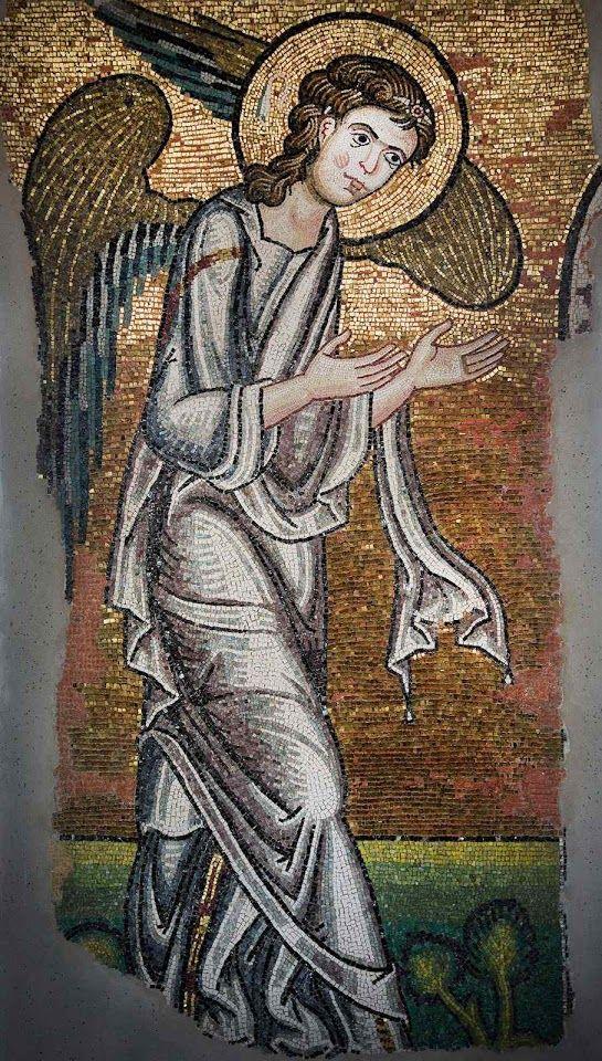 O DIÁRIO DE DEUS: O Anjo apontando para o lugar onde Jesus nasceu re...