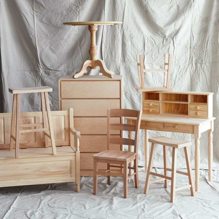 Best 25+ Unfinished Furniture Ideas That You Will Like On