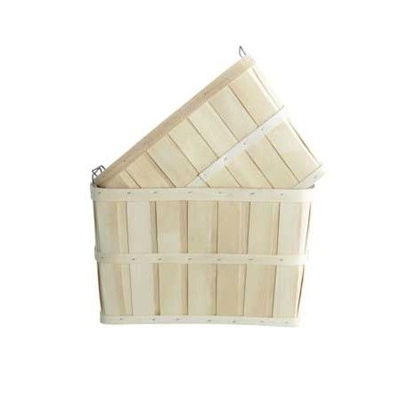 Kurv Storage - Lækker trækurv fra House Doctor.  Brug den til opbevaring af fx frugt og grønt, strikketøj, legetøj samt huer og vanter.  Findes i 2 størrelser : S og L