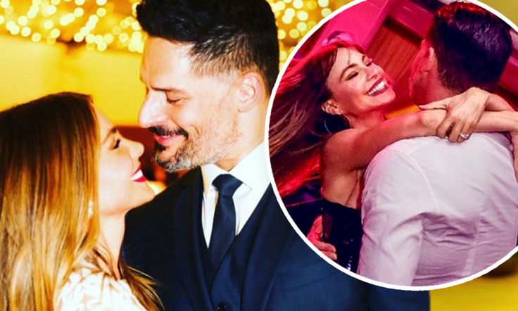 The Modern Family star, 45, posted an adorable photograph of the pair gazing into each other's eyes, alongside the caption: 'I adore you @joemanganiello. Happy Aniversary!!'