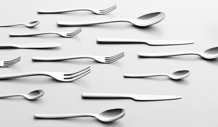 ronan   erwan bouroullec cutlery for alessi - ovale collection