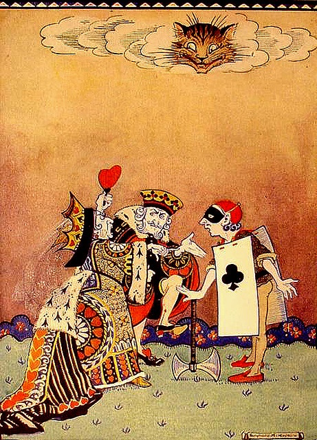 alice red queen illustrations for sermons on numbers