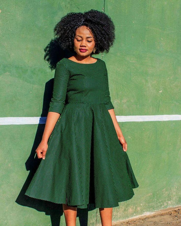 Seshoeshoe Seshweshwe Sesotho Leteisi Dress In 2019