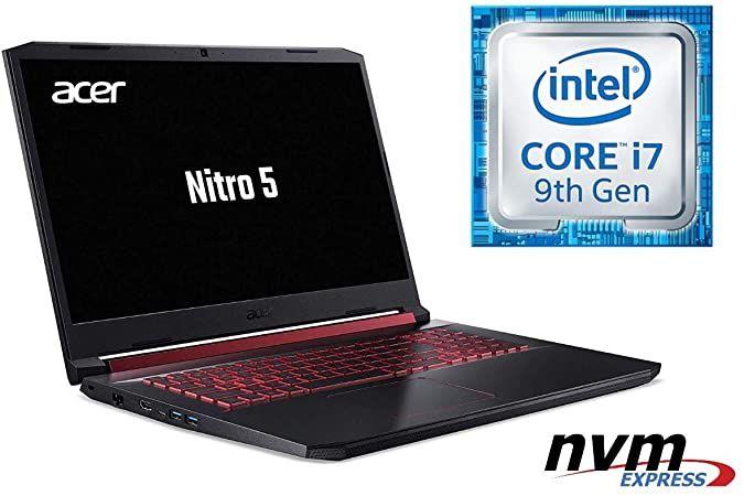 Im Test 2020 Notebook Nitro 5 An517 Core I7 9750h 32gb Ddr4