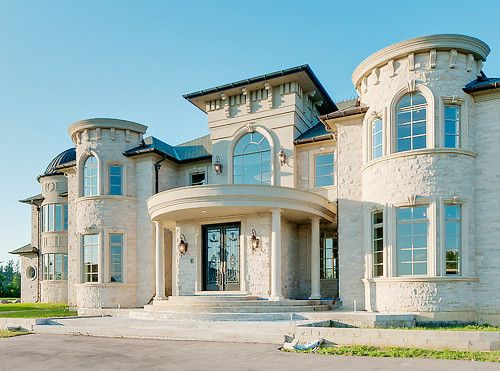 house luxury and mansion image - Luxury Home Exterior Designs