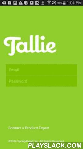 Tallie  Android App - playslack.com ,  Tallie is the only mobile business expense report platform designed for users, built by finance experts, and engineered to integrate with accounting systems and related SaaS solutions. Use the Tallie app to capture and upload receipts, generate expense reports, and customize expense details before electronically submitting for approval. Simple, easy, and powerful. Tallie software intelligently scans, categorizes, and matches your receipt and credit card…
