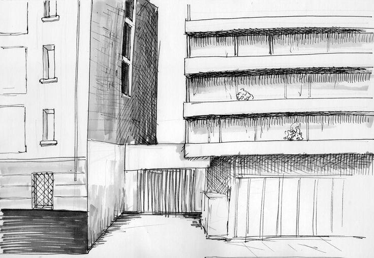 medianero- Barrio Lastarria (croquis Camicc)