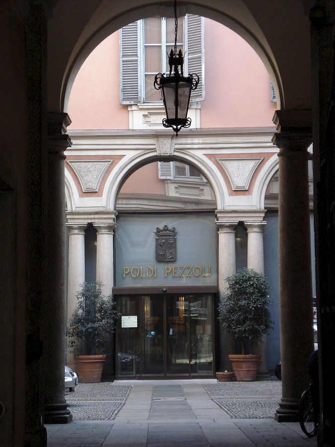 The 9 Best Milan Museums - this is Museo Poldi Pezzoli, a house museum in the heart of the fashion district!