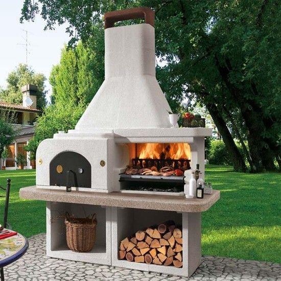 Barbecue pierre GARGANO avec four à pizza planlar Pinterest