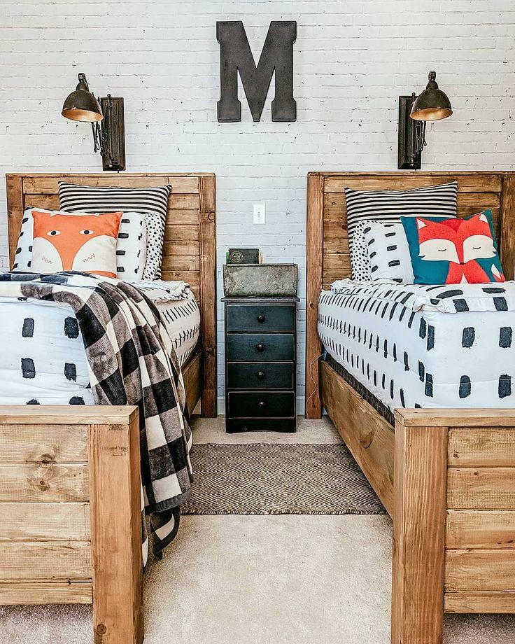 Best Boys Room Brick Wallpaper Anawhitediy Beds Beddybeds 400 x 300