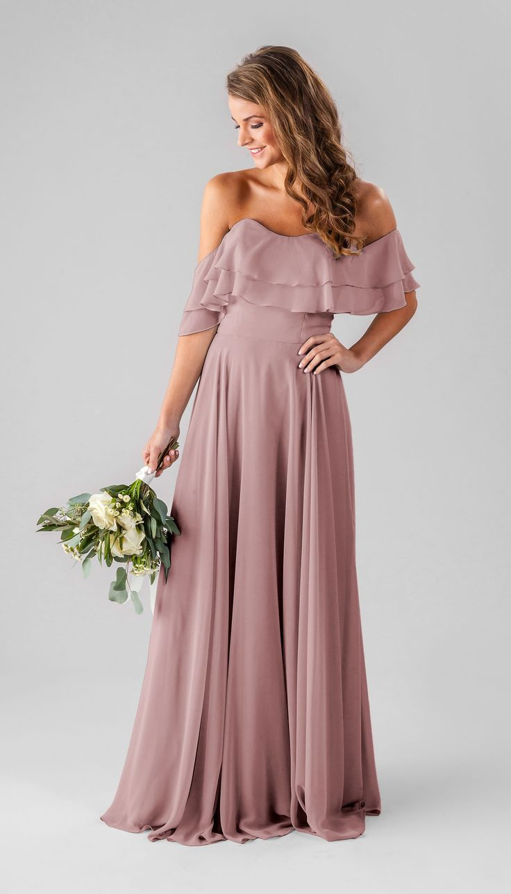 Boho bridesmaid dresses | Desert Rose | Allison | Kennedy Blue