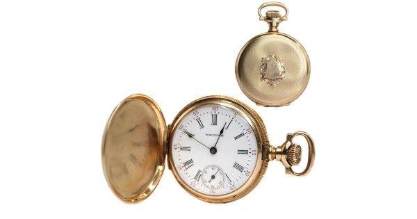 Ceas de buzunar - aur 14k - American Waltham Watch Co. - cca 1903