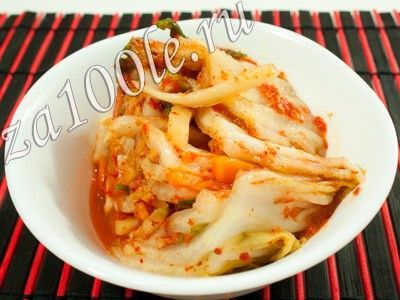 Рецепт Кимчи по южно-корейски