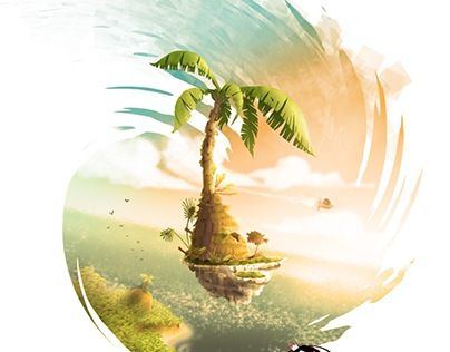 """Check out new work on my @Behance portfolio: """"The Monking's Journey"""" http://be.net/gallery/54663395/The-Monkings-Journey"""