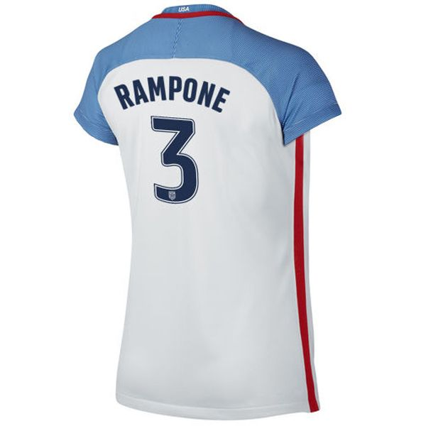 for the 201617 usa 3 christie rampone home womens soccer jersey us national team