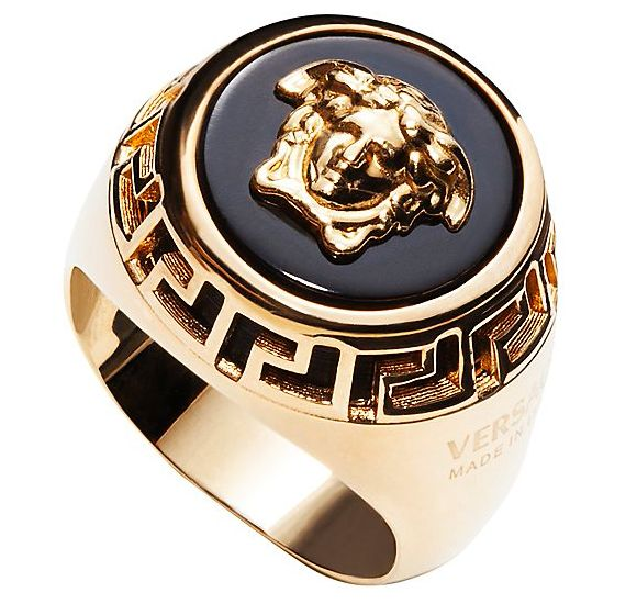 versace ring silber
