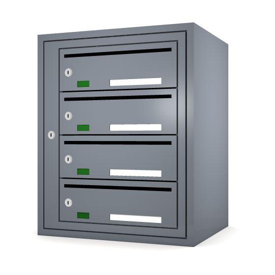Svenskboxen 1x4  Article number:   SVB14-9995-1000    En komplett postbox med marknadens högsta säkerhetsklass. Svensk-boxen är förberedd för ellåsinstallation som standard och uppfyller användbarhetskraven från Bygg klokt för personer med funktions-nedsättningar.        * Svenskboxen är den enda postboxen på marknaden som erhållit den högsta säkerhetsklassen (säkerhetsklass II) vilket innebär att den motstår inbrottsförsök bäst av alla boxar.