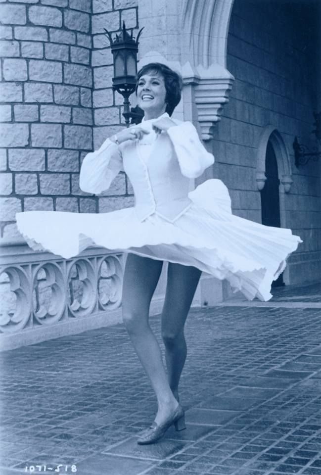Julie Andrews during the Grand Opening of Walt Disney World.