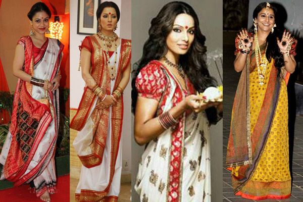 7 Different Ways to Wear a Saree with Tutorials for Trendy Newlywed Brides - BollywoodShaadis.com