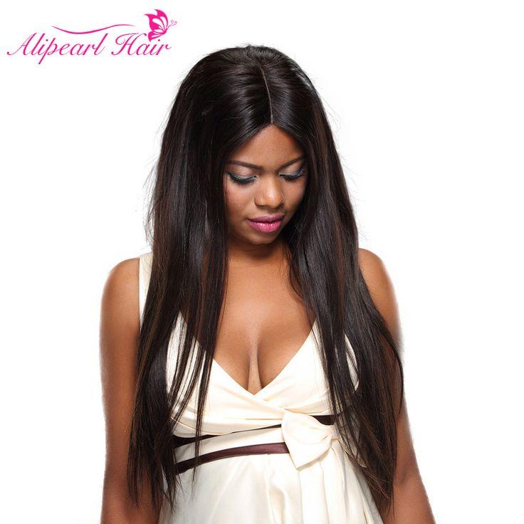 ali pearl Peruvian Virgin Hair Straight 3 Pcs 8A grade mixed length unice 100% Unprocessed Cheap Human Hair bundles yolissa