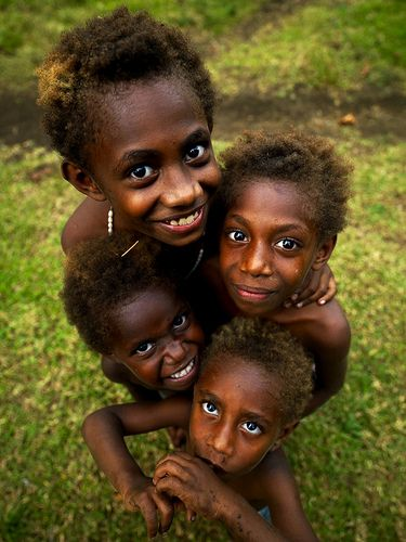 Vanuatu kids smiling | Flickr - Photo Sharing!