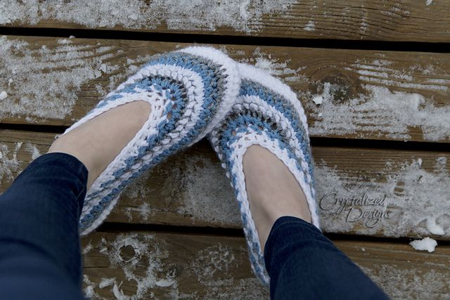 The Avalon Slippers! Perfect for the cold weather! Comes in adult size 5/6, 7/8, 9/10, and 11/12.