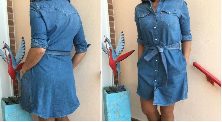 ¡Truco de costura! Cómo ensanchar un vestido camisero
