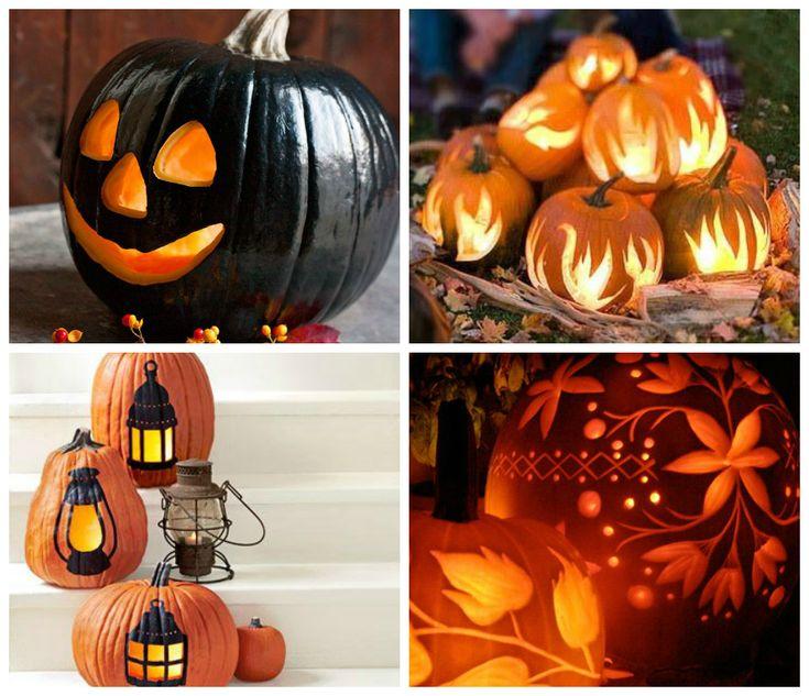42 best images about halloween halloween halloween on - Citrouille decoration halloween ...