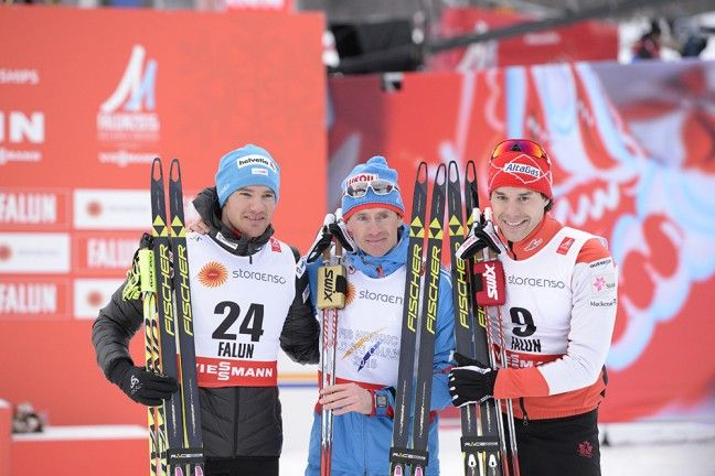Maxim Vylegzhanin (RUS) wins Gold in skiathlon | Skid-VM Falun 2015 | FIS Nordic World Ski Championships 2015