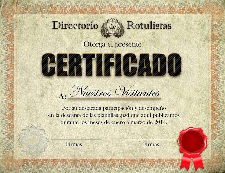 Diploma editable en formato .psd - Recursos para impresores y diseñadores.