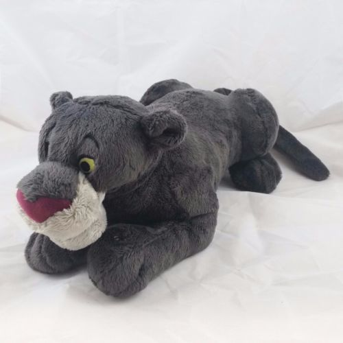 Bagheera Disney Plush Panther From Jungle Book Stuffed Animal Toy Gray #Disney #JungleBook #TheJungleBook #Panther #Bagheera #Plushies