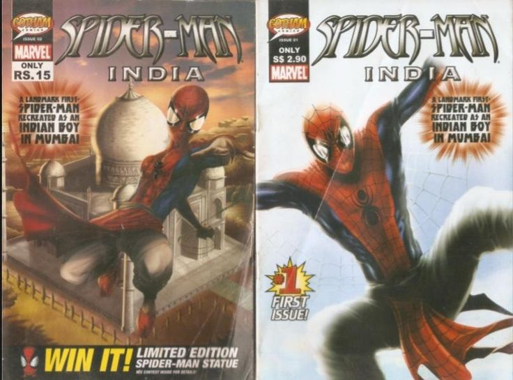 What other nation can claim to have produced a Bollywood-style torch song for Spider-Man? You can see it right here.