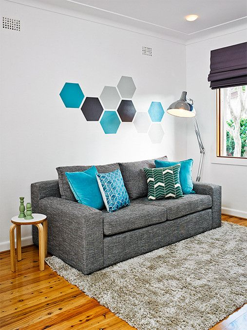 Maximise your space by turning a spare room into a multi-function hero - a guest room, office and family room all in one! #makeover #decorating #interiordesign