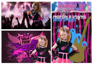 rock start party ideas