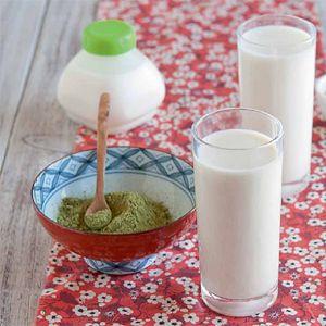 Yaourt boire au miel de lavande et au th matcha - Yaourt a boire seb ...