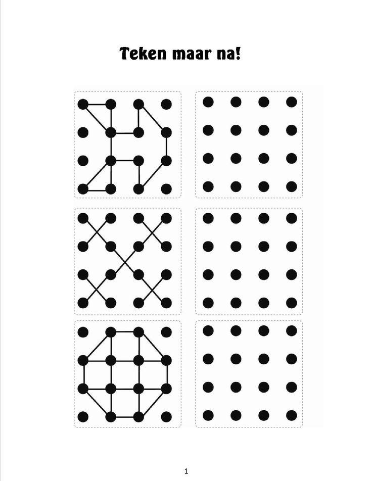 Natekenen van figuren 11