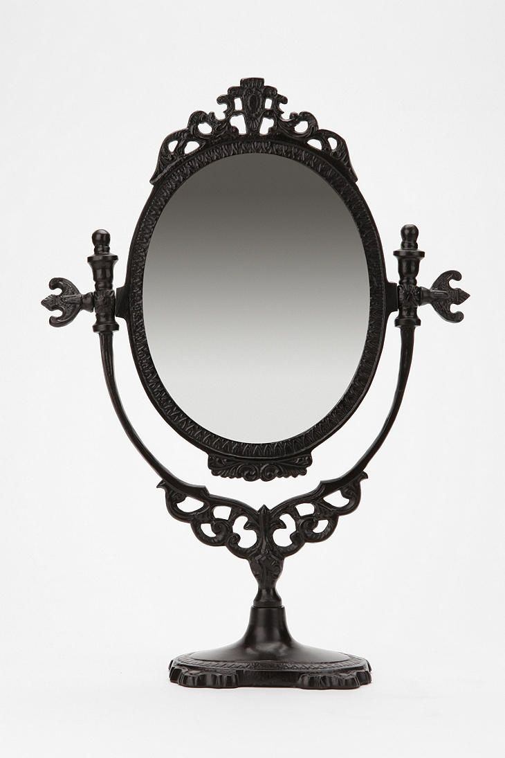 Vanity MirrorUrbanoutfitters, Vanities Mirrors, Bedrooms Vanities, Antiques Stores, Urban Outfitters, Black And White, Master Bath, Snow White, Mirrors Mirrors