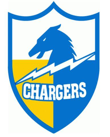San Diego Chargers Logo 1961 73 Team Logotype Pinterest