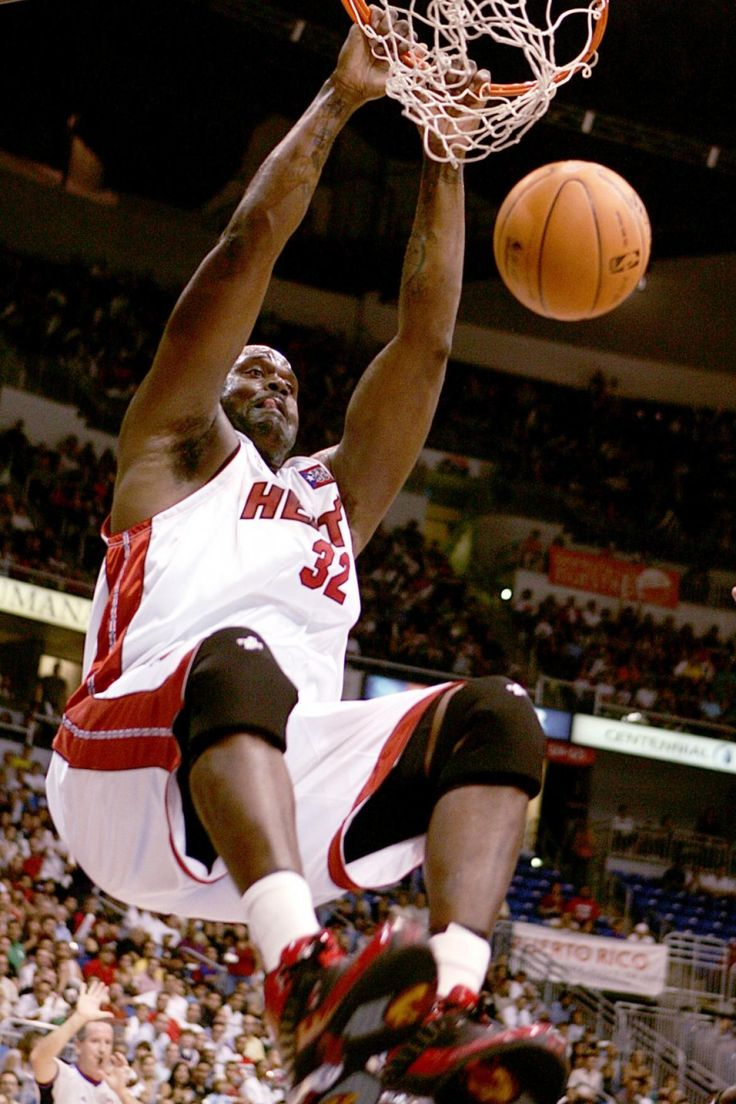 Mi miami heat highest paid player by year - Shaquille O Neal Heat Nba