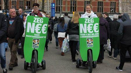 PINK! in actie voor de Europese verkiezingen