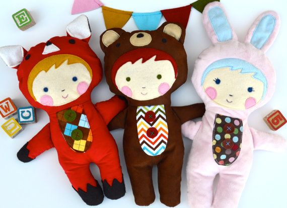 Baby Toy Tutorial PDF Sewing Pattern INSTANT DOWNLOAD