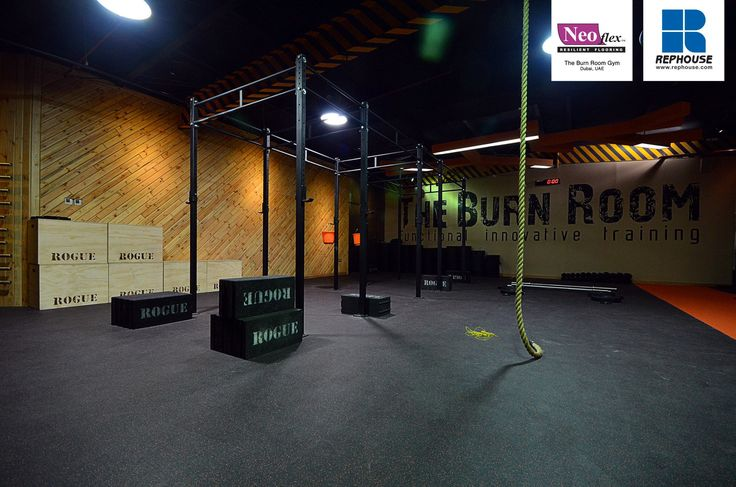 Neoflex series rubber fitness flooring the burn room