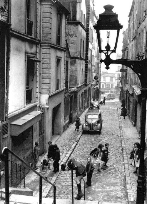 Ménilmontant - Paris 1953 Photo de Robert Doisneau