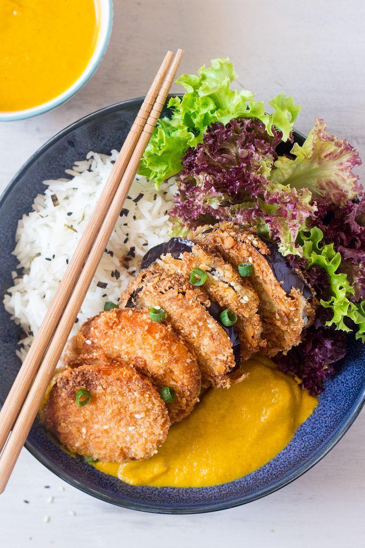 yasai katsu curry top down