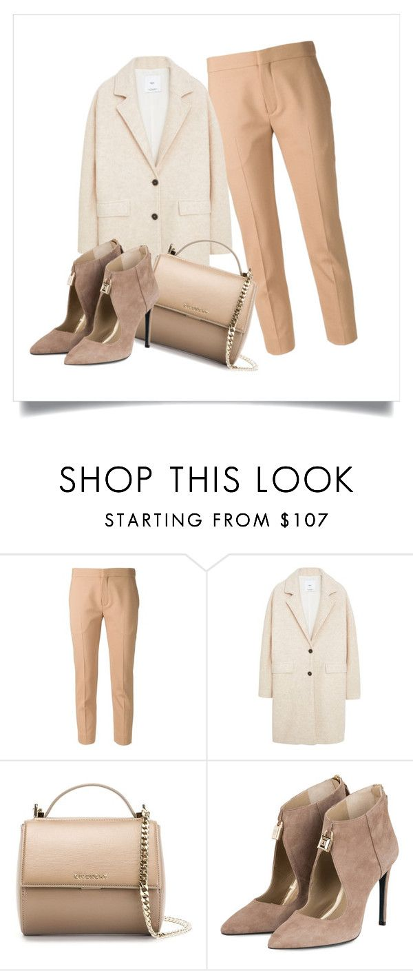 BEIGE by maikoyt on Polyvore featuring MANGO, Chloé and Givenchy