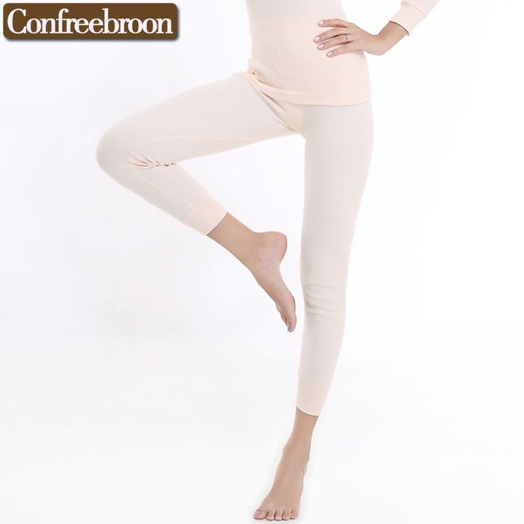 High Quality Women's Long Johns Underwear Comfortable Pure Cotton Thermals Pants Male Thin Warm Leggins In Autumn And Winter 725