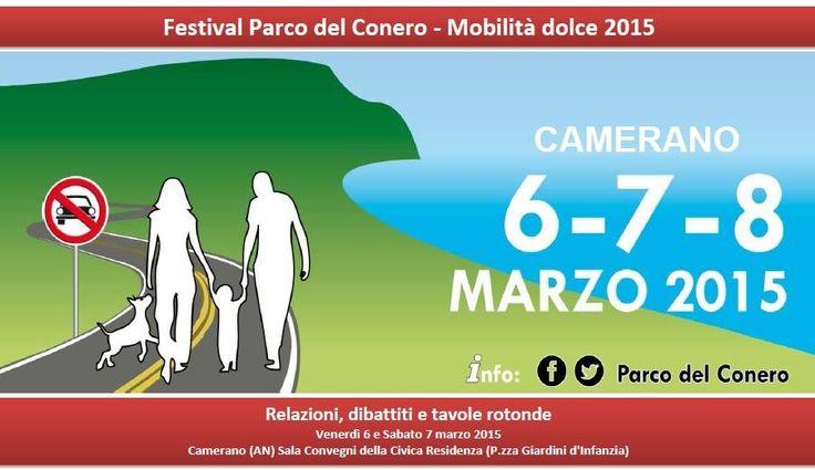 Festival Parco del Conero - Mobilità Dolce 2015 Tavole rotonde venerdì 6 e sabato 7 marzo