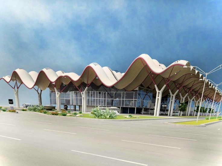 My design for bus station