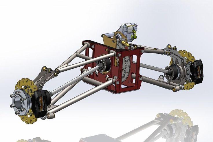 Rear Suspension Plans Bike Powered Mini Dune Buggy Sandrail on CD Disc | eBay